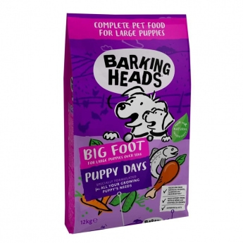 Barking Heads Large Breed Puppy Days (12 kg)