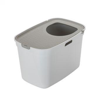 Moderna Top Cat kissanvessa valkoinen/harmaa (Monivärinen)**