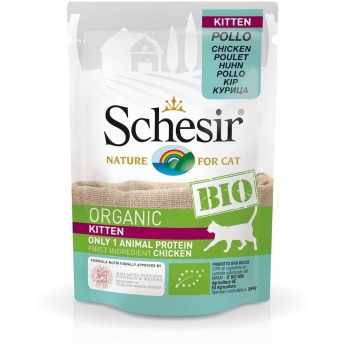 Schesir Bio Cat Kitten Chicken 85 g