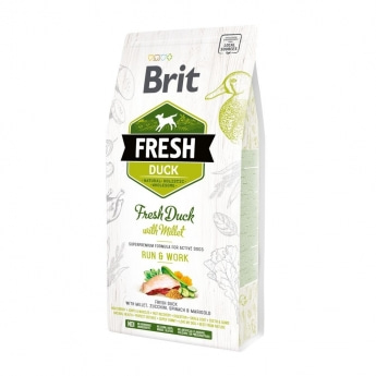 Brit Fresh Duck&Millet Active Run & Work (2,5 kg)