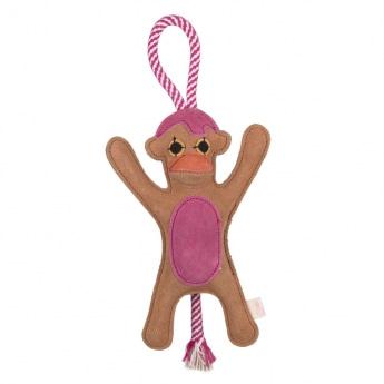 Gaia Suede Apina ruskea/pinkki kahvalla