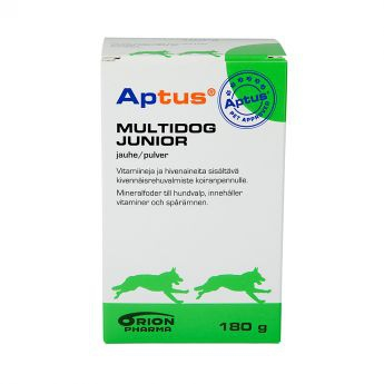 Aptus Multidog Junior -jauhe 180 g