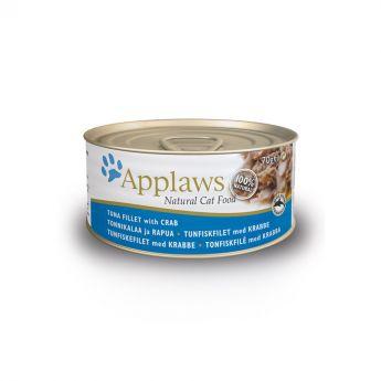 Applaws Cat tonnikala & rapu (70 grammaa)