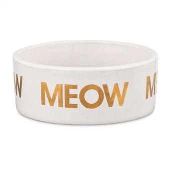 PCO Harmony Golden Meow keraaminen kissankuppi**