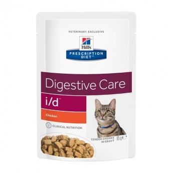 Hills Diet Cat i/d Chicken Pouch12x85g
