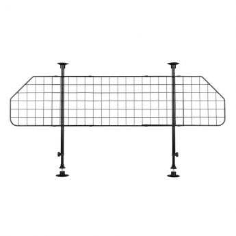 Trixie Koirakalteri verkko musta, leveys 125-140 cm, korkeus 63-135 cm