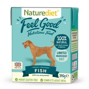 Naturediet Feel Good kala (390 g)