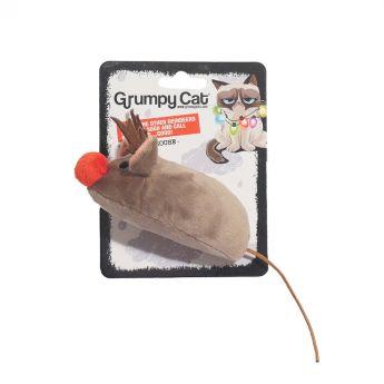 Grumpy Xmas hiiri poronsarvilla (Monivärinen)**
