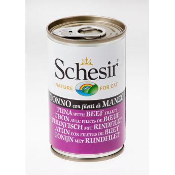 Schesir Jelly tonnikala & nauta (140 grammaa)
