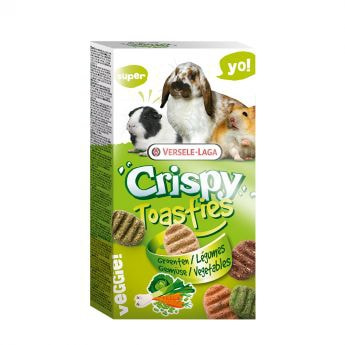 Versele-Laga Crispy Toasties Vegetables 150g