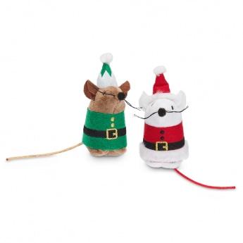 PCO Holiday pukki & tonttu hiiret 2 kpl**