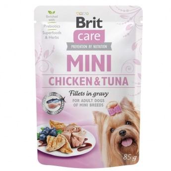 Brit Care Mini kanaa ja tonnikalaa kastikkeessa 85 g