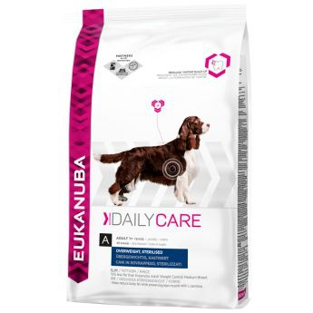 Eukanuba Daily Care Overweight, Sterilized All Breeds**