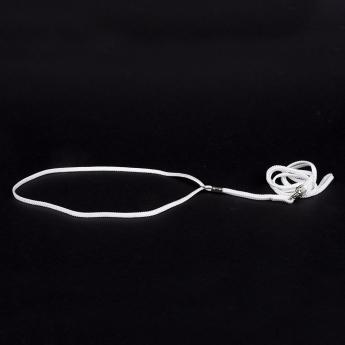 Show Dog Näyttelytalutin pyöreä, valkoinen (5 mm)