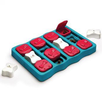 Nina Ottosson Dog Brick -aktivointilelu sininen**
