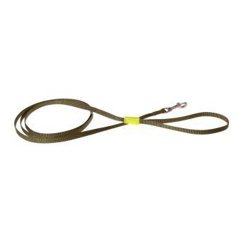 Basic Casual koiran talutin vihreä/keltainen (Nylon)