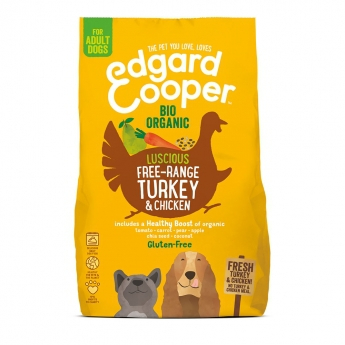 Edgard&Cooper Dog Organic Turkey & Chicken