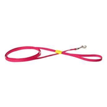 Basic Casual koiran talutin pinkki/keltainen (Nylon)