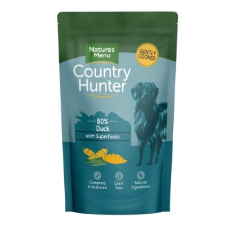Natures:menu Country Hunter Dog Duck 150 g