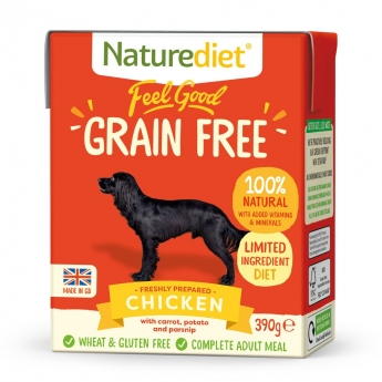 Naturediet Grain Free kana (390 g)
