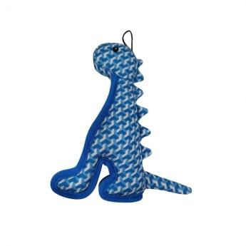 Bark-a-Boo Tough Toys dinosaurus sininen