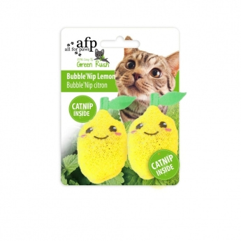 All for Paws Bubble´nip sitruuna 2-pack