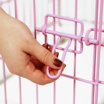 Carlson kevytmetallihäkki pinkki (Pinkki)