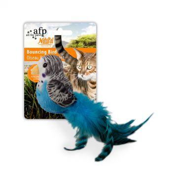 All For Paws Natural Instincts lintu höyhenillä
