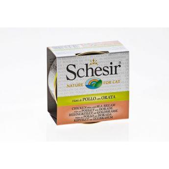 Schesir kana & ahven (70 grammaa)**