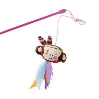 GiGwi HappyIndians Onki Apina (Monivärinen)**