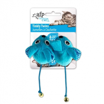 All for Paws Modern Cat Twinkle Twins -hiiret 2-pack lajitelma