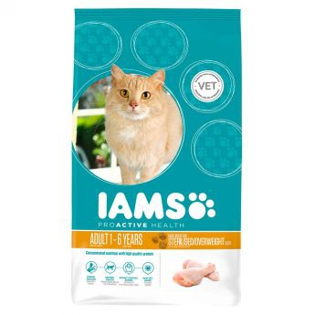 Iams Adult Sterilised/Overweight Chicken**