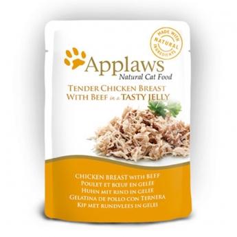 Applaws Cat kanaa ja nautaa
