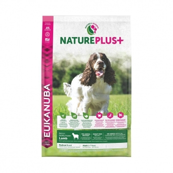 Eukanuba NaturePlus+ Adult Medium Lamb