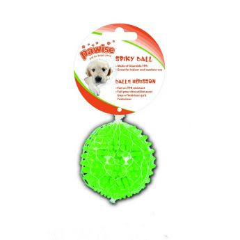 Pawise TPR Bouncy pallo 8cm vihreä (8 cm)
