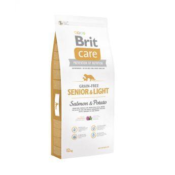 Brit Care Grain-Free Senior & Light Salmon & Potato**