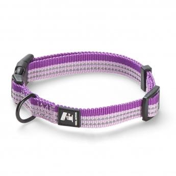 Feel Active nylonpanta raidallinen violetti**