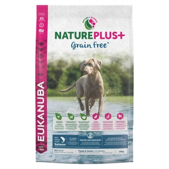 Eukanuba NaturePlus+ Grain Free Puppy Salmon