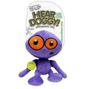 Hear Doggy Alien violetti pieni (15 cm)