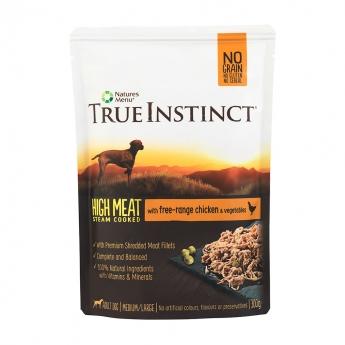 True Instinct Dog kana (300 grammaa)**