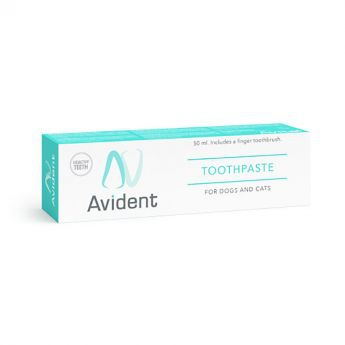Avital Avident -hammastahna 50 ml ja sormihammasharja**