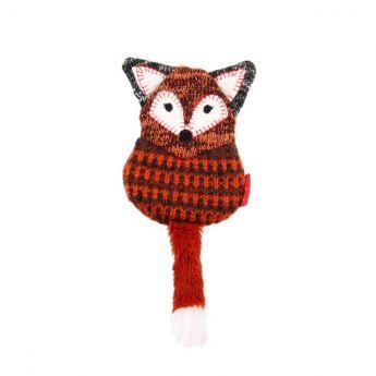 GiGwi PlushFriendz Knitted Kettu (Punainen)