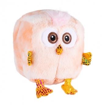 Little&Bigger PuffBirdies kuutiopehmolelu persikka
