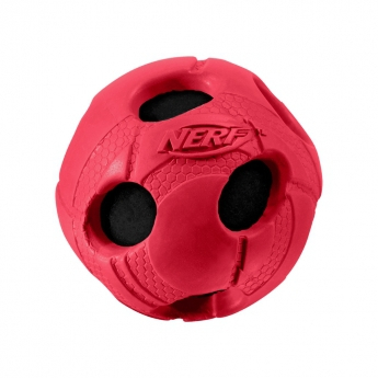 Nerf kumipäällysteinen tennispallo punainen