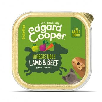 Edgard&Cooper Dog lammas & nauta (150 g)
