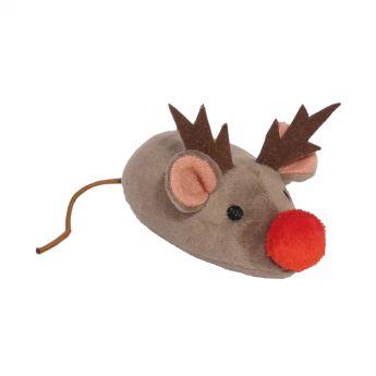 Grumpy Xmas hiiri poronsarvilla (Monivärinen)