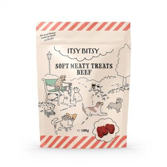 ItsyBitsy lihainen nautaherkku (100 grammaa)