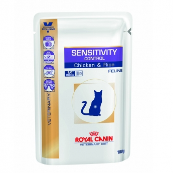 Royal Canin Veterinary Diet Cat Sensitivity Control S/O wet 12 x 100 g