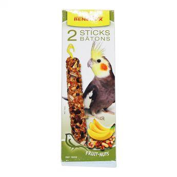 Benelux pähkinä-banaani siementikut neitokakaduille (110 grammaa)**