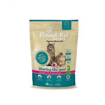 Planet Pet Society Adult Salmon & Hair Care